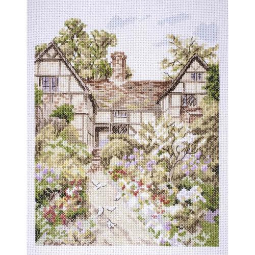 Manor Farm Cross Stitch Kit By Rural England