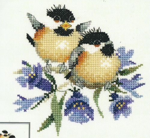 Bluebell Chick-Chat Cross Stitch Kit By Heritage