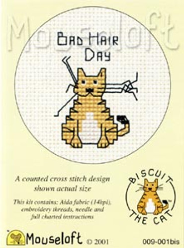 Bad Hair Day Cross Stitch Kit by Mouse Loft