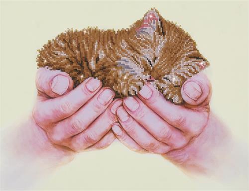 Precious Kitten Craft Kit by Diamand Dotz