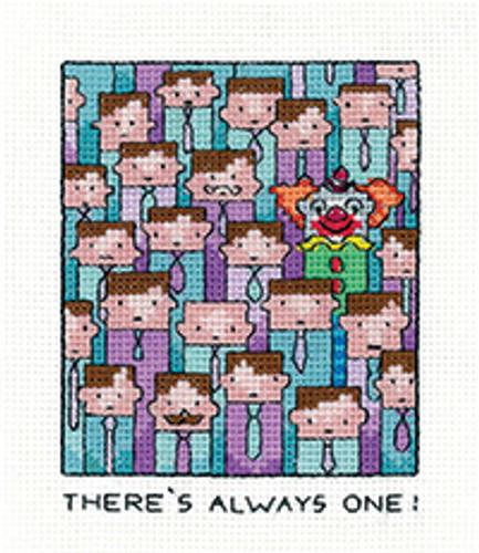 Always One Cross Stitch Kit By Heritage Crafts