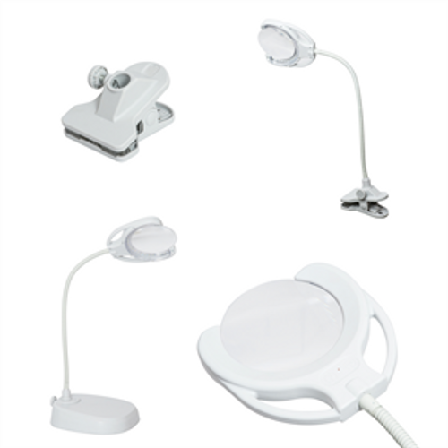 Tri Spectrum Rechargeable: Floor Table and Desk Lamp: European LED