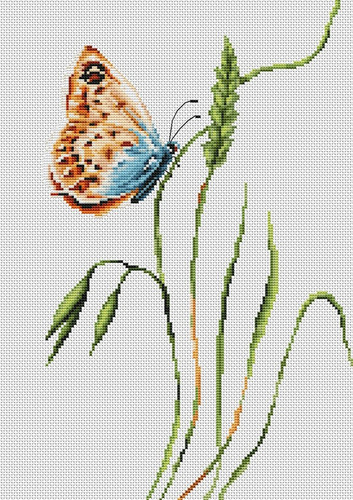 Smell of Spring Cross Stitch Kit by Luca S