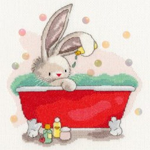 Bebunni Me time Cross Stitch Kit by Bothy Threads