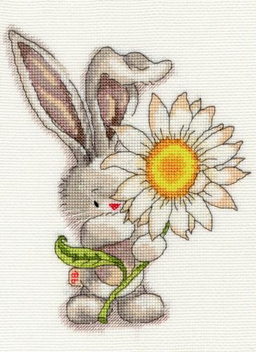 Bebunni Daisy Cross Stitch Kit By Bothy Threads