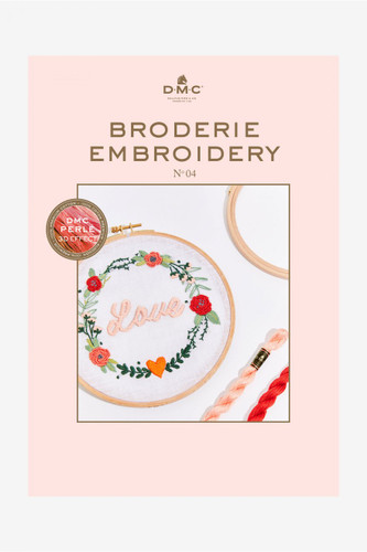 Embroidery Book n°4 By DMC