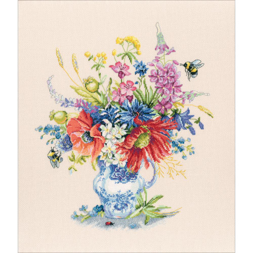 Summer in a Bunch Cross Stitch Kit by RTO