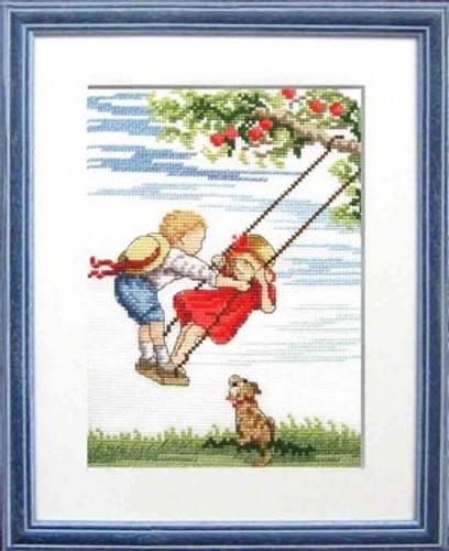 Higher Cross stitch Kit by Faye Whittaker