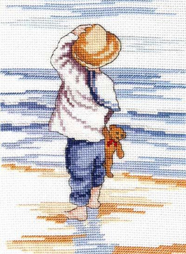 Reflection Cross Stitch Kit by All our yesterdays