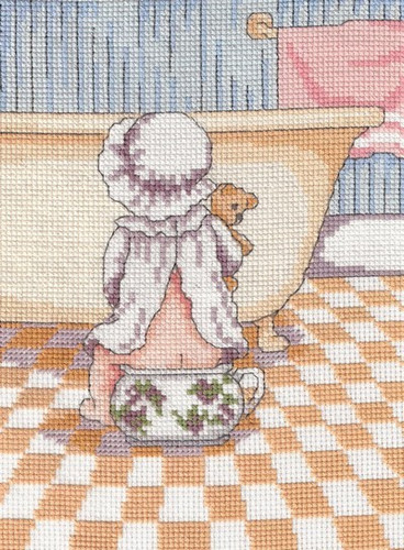 Wee Break Cross Stitch Kit by All our Yesterdays