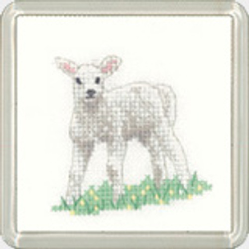 Lamb Coaster Kit  By Heritage Crafts