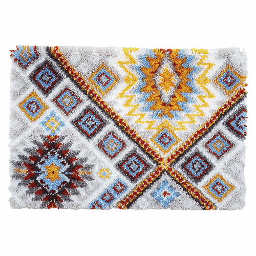 Latch Hook Kit: Rug: Ethnical by Vervaco