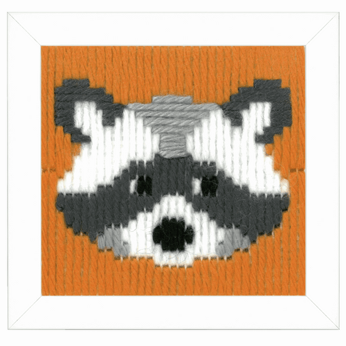 Childrens Long Stitch Kit: Walter By Vervaco