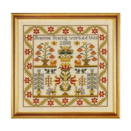 Flora And Fauna Cross Stitch By Historical Sampler Company