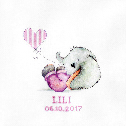 Baby Girl Cross stitch kit  by Luca s