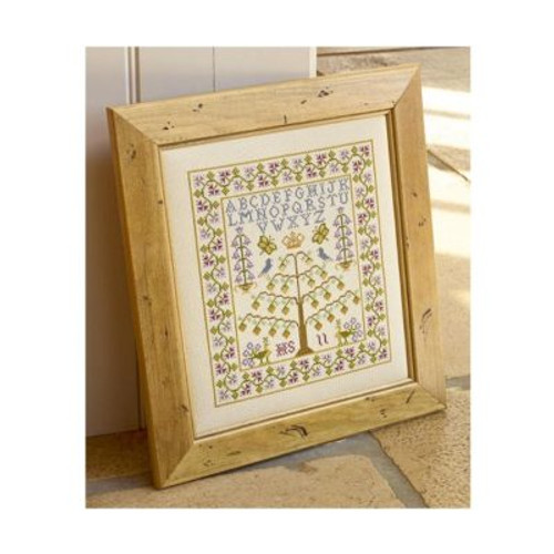 Tree Of Life Cross Stitch By Historical Sampler Company