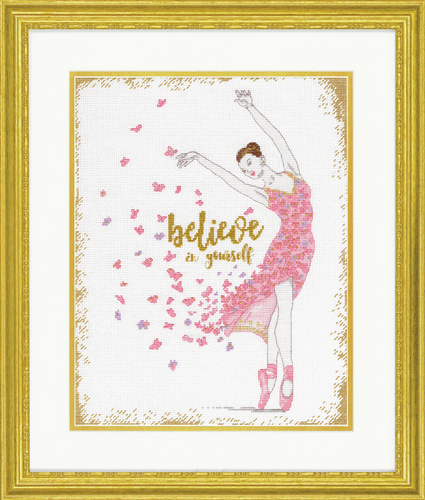 Counted Cross Stitch Kit: Dream Dancer By Dimensions