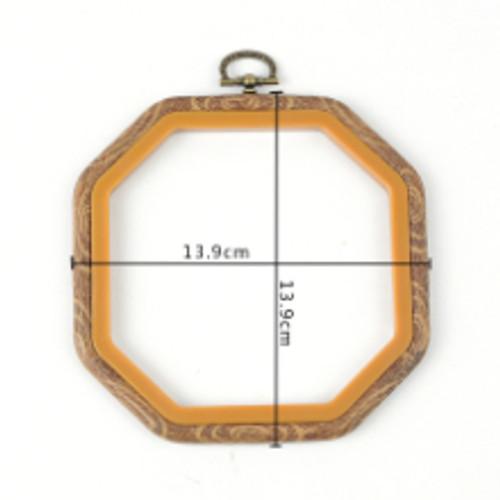 "4"" X 4"" Octagonal square flexi hoop"