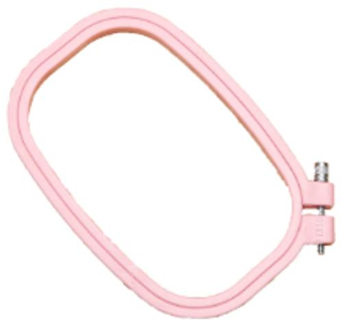 """Rectangular plastic hoop 4"""" x 6 By Siesta"""