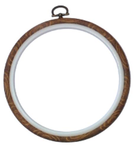 """6"""" Woodgrain flexi hoop By Siesta"""