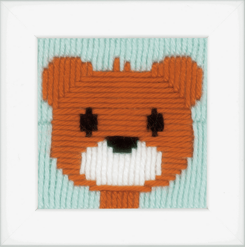 Little Bear Long Stitch Kit By Vervaco