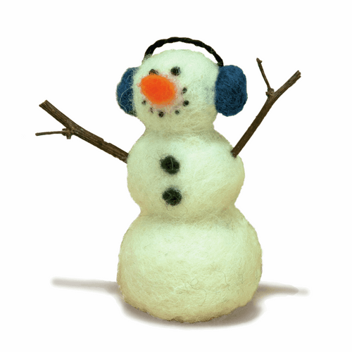 Snowman Needle Felting Kit By Dimensions