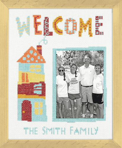 Welcome Home Counted Cross Stitch Kit By Dimensions