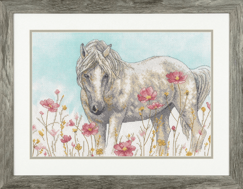 Wild Horse Counted Cross Stitch Kit By Dimensions