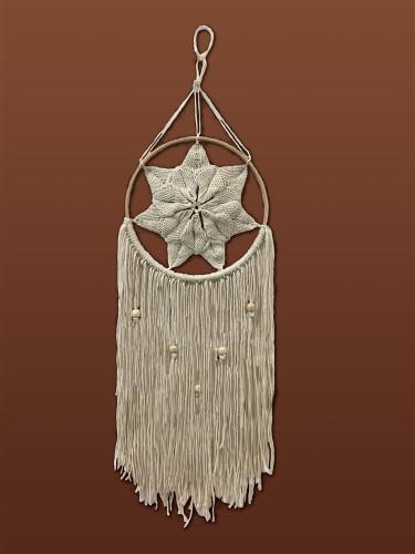 Natural Star Macramé Kit by Design Works