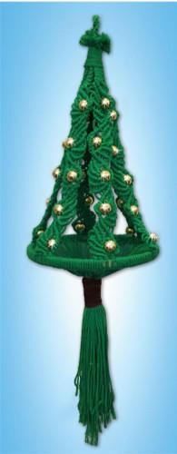 Christmas Tree Macrame Kit Macramé Kit by Design Works