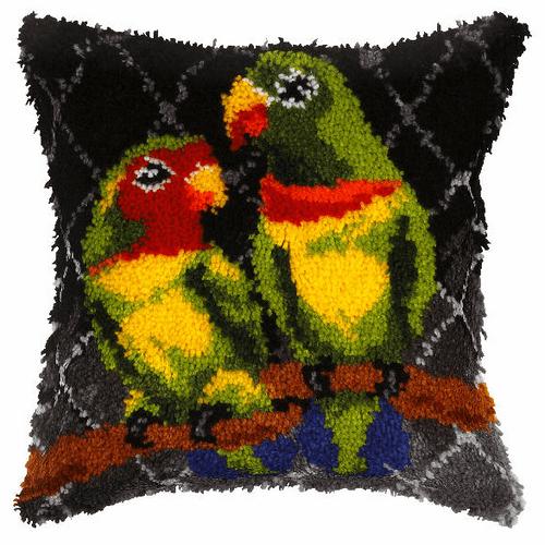 Parrots Latch Hook Kit By Orchidea