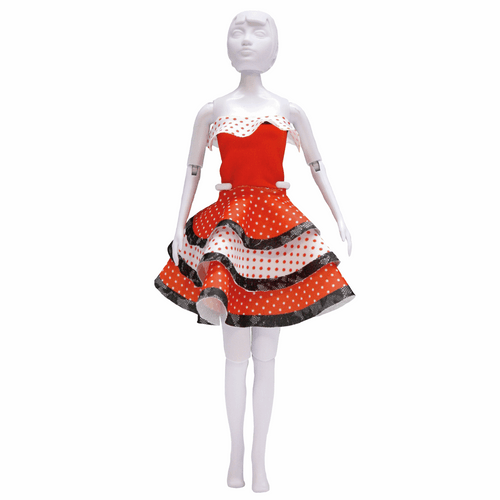 Couture Outfit Making Set Maggy Flamenco By Vervaco