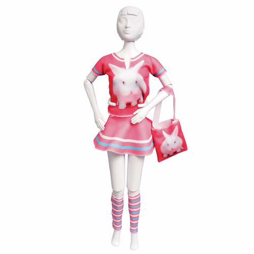 Couture Outfit Making Set Tiny Rabbit By Vervaco