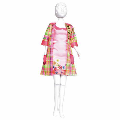 Couture Outfit Making Set Betty Madras By Vervaco