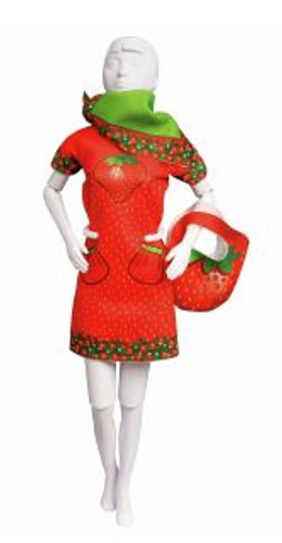 Couture Outfit Making Set: Twiggy Strawberry by Vervaco