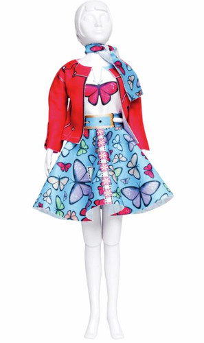 Lucy Butterfly Couture Outfit Making Set by Vervaco