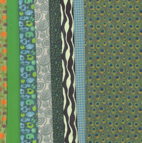 Greens Making Couture Fabric Set by Vervaco