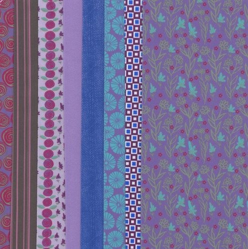 Purple Making Couture Fabric Set by Vervaco
