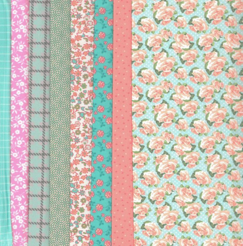 Pastel Making Couture Fabric Set by Vervaco