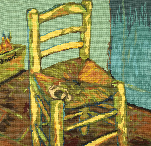 Van Goghs Chair Tapestry Kit by DMC