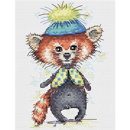 Raccoon Cross Stitch Kit By MP Studia