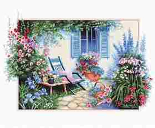 lower Garden Counted Cross Stitch Kit by Luca S