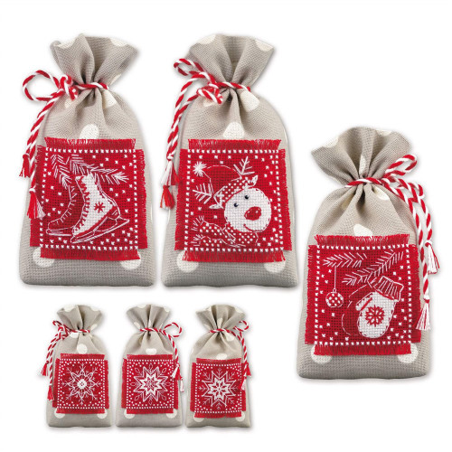 Winter Gifts Counted Cross Stitch Kit By Riolis