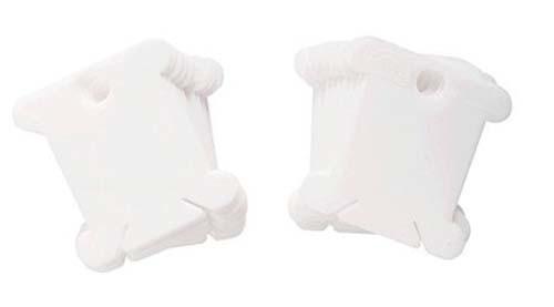 28 DMC plastic Bobbins