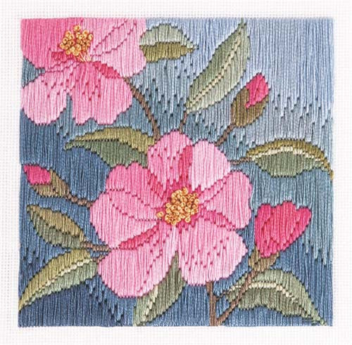 Camelias Longstitch Kit