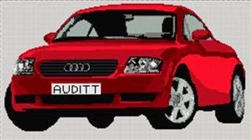 Audi Tt Cross Stitch Kit