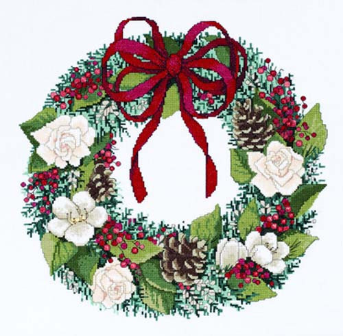 Christmas Traditions Cross Stitch Kit By Janlynn