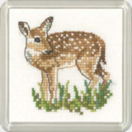 Fawn Coaster Cross Stitch Kit