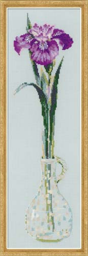 King Of Flowers Cross Stitch Kit By Riolis