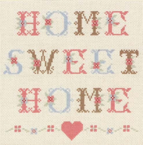 Heart Home Sweet Home Cross Stitch Kit